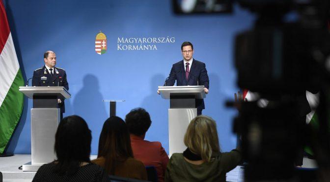 Magyarország egész területére veszélyhelyzetet hirdettek ki